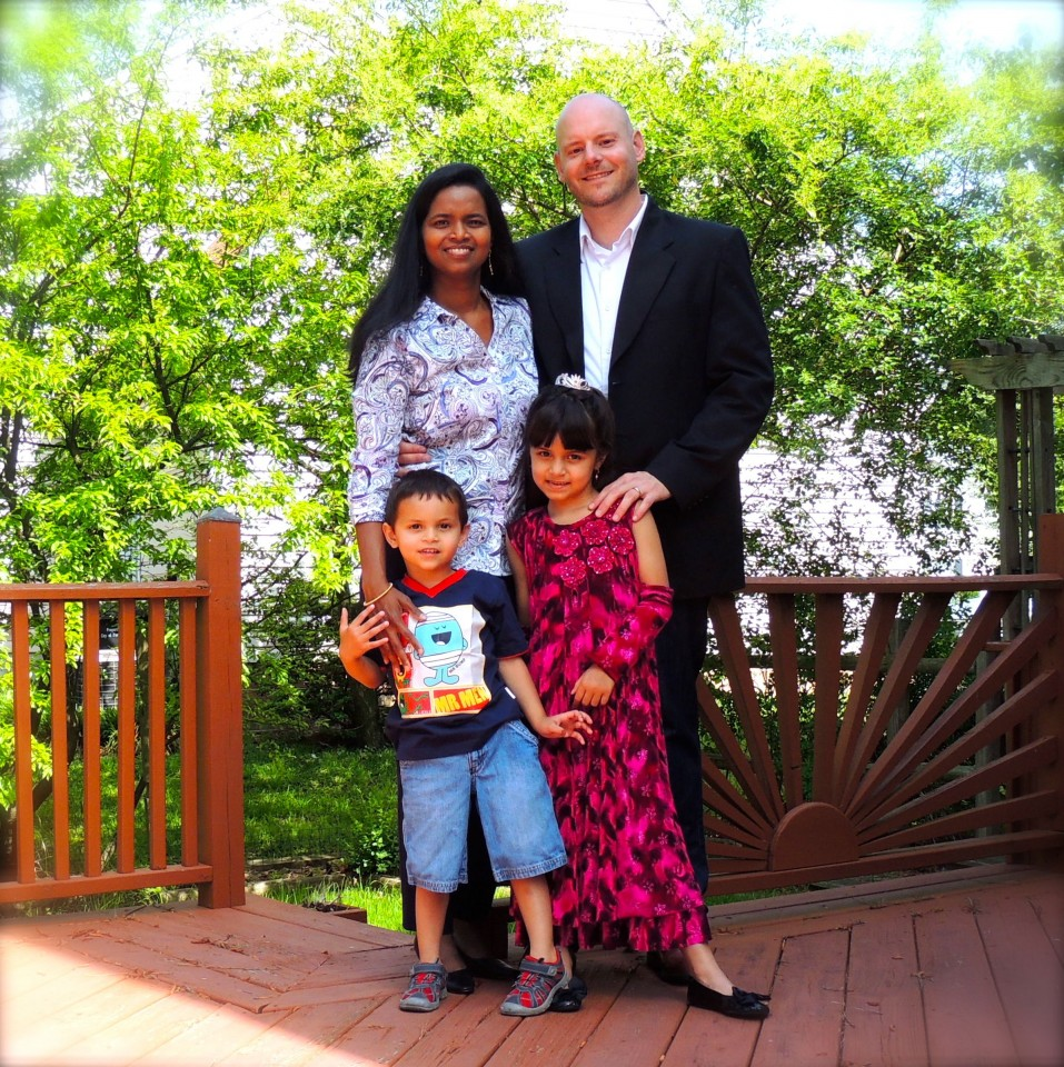 Pastor Tim Campbell and Family